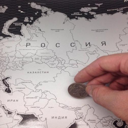 Скретч карта мира black-6722692