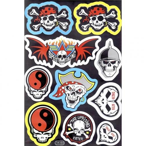 Наклейки набор (23х36) Pirates-1025885