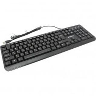 Клавиатура Defender OfficeMate HM-710 RU, USB, черная