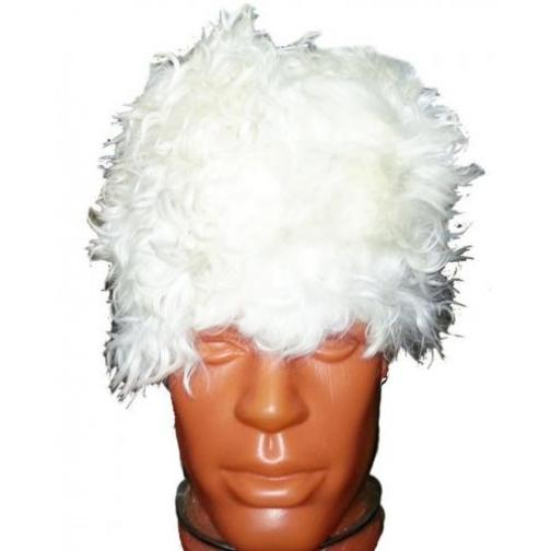 Папаха Кавказская белого цвета-9302