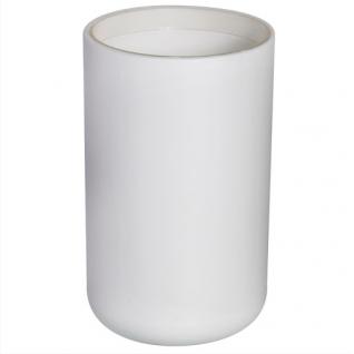 Стаканчик Duschy Plastic white 309-01
