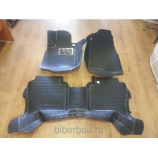 Коврики Mitsubishi Pajero чёрный 2006-2015-907230