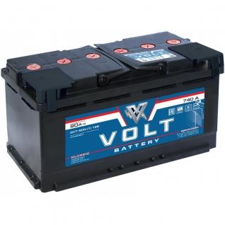 Аккумулятор VOLT Classic 6CT- 90N 90 Ач (A/h) прямая полярность - VC 9011 VOLT VC6CT- 90N-6017355