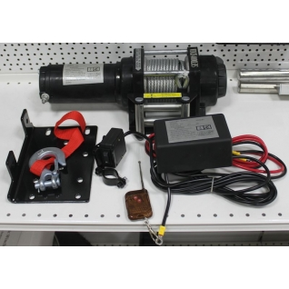 Лебедка автомобильная ATV Electric Winch 12v 4000 LBS-1975978