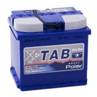 Автомобильный аккумулятор TAB TAB POLAR 60R uni 560А обратная полярность 60 А/ч (207x175x190)
