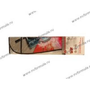 Шторка автомобильная 146х68см AUTOSTANDART 101612 на ветровое стекло с рисунком гоночная трасса-432329
