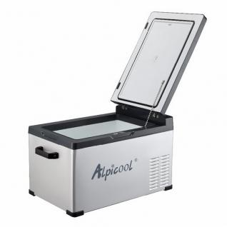Kомпрессорный автохолодильник ALPICOOL C30 черный (30л, 12/24/220В)-36995009