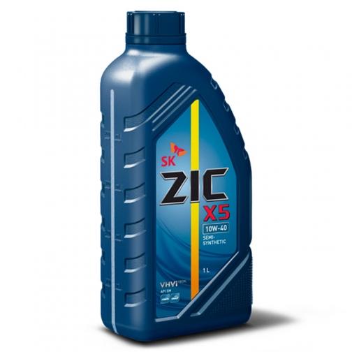 Моторное масло ZIC M5 4T 10W40 1л для 4-х тактных двигателей-5921466