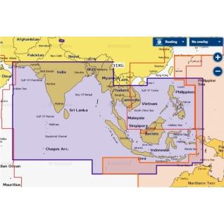 Карта Navionics+ Индийский океан и Южно-Китайское море (31XG)-5943390