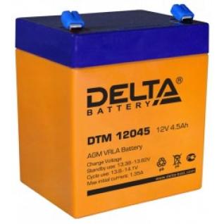 Аккумулятор для ИБП DELTA Delta DTM 12045 А универсальная полярность 4 А/ч (90x70x101)