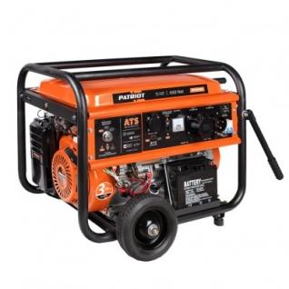 PATRIOT GP-7210AE Patriot - Генератор бензиновый 6/6.5 кВт, объём топливного бака - 25 л.-6404604