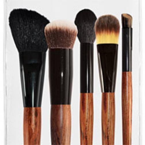 Профессиональные кисти для макияжа - Набор JEANS из 5 кистей для макияжа 5-02-2148540
