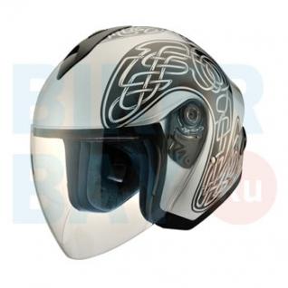 Шлем (открытый) MO 120 Twister Silver (Размер XS) MICHIRU-2156386