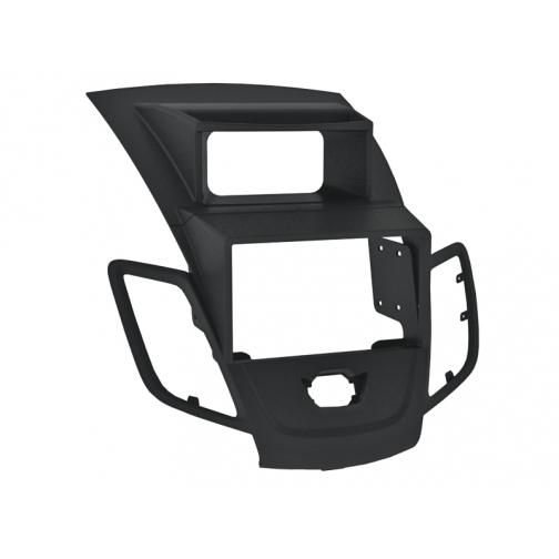 Переходная рамка Intro RFO-N22 для Ford Fiesta 09+ 2/1DIN Black (со штатным дисплеем) Intro-835027