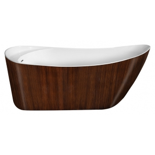 Отдельно стоящая ванна LAGARD Minotti Brown wood
