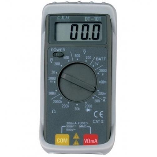 Карманный цифровой мультиметр СЕМ DT-101-6766004