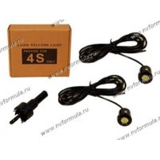 Подсветка светодиодная Auto Crystal для дверей, в салон, в багажник врезная 12V-432594