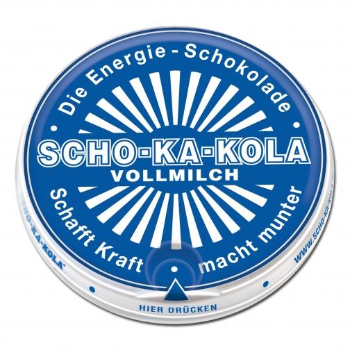 SCHO-KA-KOLA Шоколад SCHO-KA-KOLA молочный энергетический 100 г.-5017599