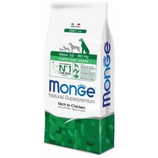 Monge Monge Dog Maxi корм для щенков крупных пород с курицей 12 кг