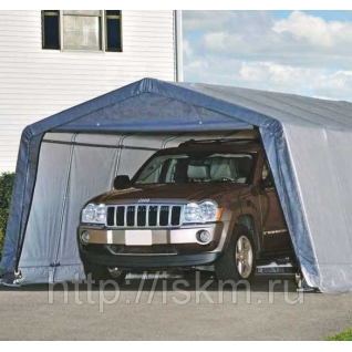 Тентовый гараж для дачи сборный ShelterLogic 3,7х6,1х2,5 м-37556655