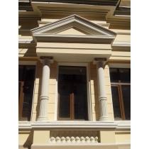 Фасадный декор из пенополистирола с минерально-акриловым покрытием