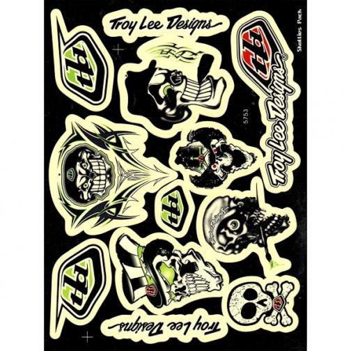 Наклейки набор (20х28) Troy Lee Designs-1026111