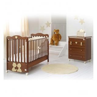 Комплект Baby Expert Комплект Primo Amore (комод+кровать) орех/крем