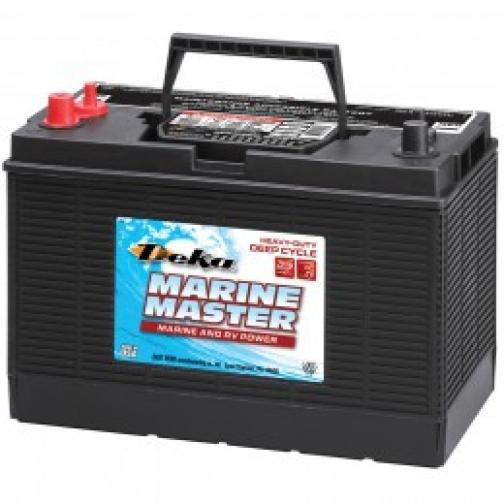 Аккумулятор лодочный DEKA DEKA MARINE DC31 DT (стартерный глубокого разряда) 650А прямая полярность 120 А/ч (330x171x236)-6000446