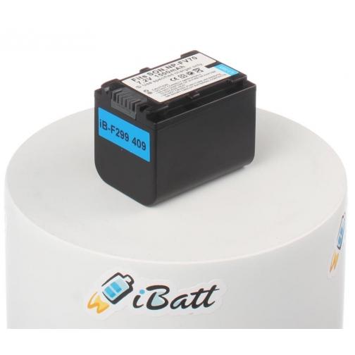 Аккумуляторная батарея iBatt для фотокамеры Sony DCR-SX33E. Артикул iB-F299 iBatt-6803936