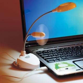 USB-вентилятор со светильником
