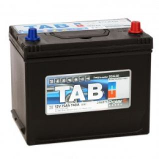 Автомобильный аккумулятор TAB TAB POLAR S 75R 740А обратная полярность 75 А/ч (260x175x220)