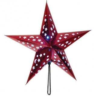 Световая фигура Feron LT101 Звезда из бумаги, красная-8222942