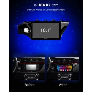 Штатная магнитола CARMEDIA OL-1742 DVD Kia Rio 2017+ CARMEDIA-9283308