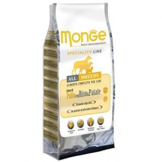 Monge Monge Dog Speciality корм для собак всех пород курица с рисом и картофелем 15 кг