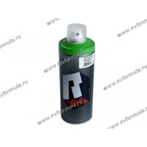 Краска для граффити зелень RUSH ART 520мл аэрозольная-418678