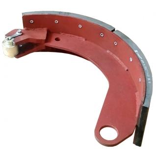 Колодка тормозная в сборе с накладкой Fomar 16.3501090-6758863