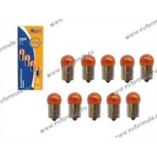 Лампа 24V5W BA15s KRAFT 700051 желтая-416034