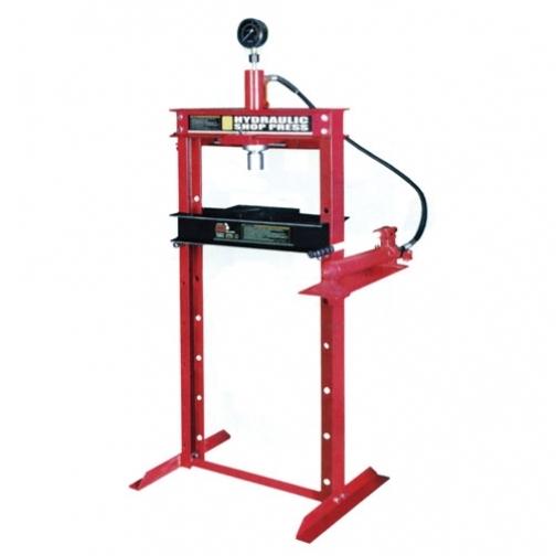 Пресс гидравлический 20т с манометром(ход поршня 185мм,диапазон работ 0-910мм) Big Red-6004245
