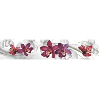 Фартук для кухни АБС Орхидея №8 600х3000х1,5мм-37623231