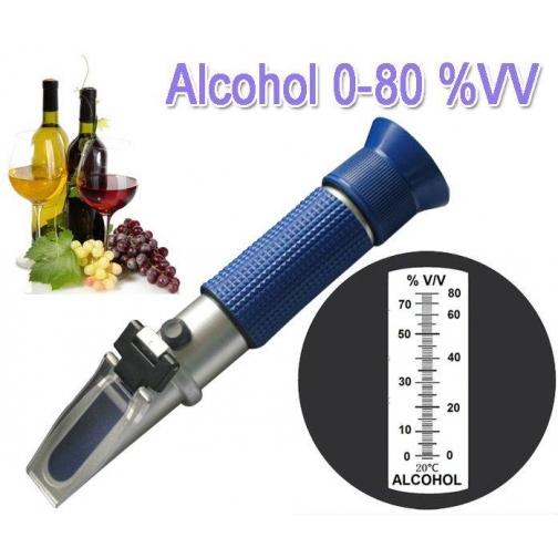 Рефрактометр для спирта (0-80%)-7239614