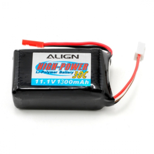 Аккумулятор Align Li-pol 1300 mAh, 30c, 3s1p, Align MR25/MR25P (батарея)-1972726