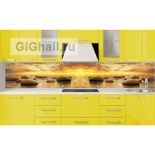 Стеклянный фартук для кухни КАМНИ-5901398