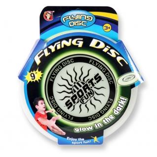 """Игрушка """"Летающий диск, светящийся в темноте"""", 23 см YG Sport-37726560"""