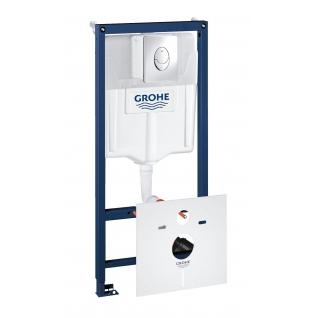 Система инсталляции для унитаза Grohe Rapid SL с панелью смыва Skate Air 3 режима комплект 4-в-1 113 м 38750001-6757920
