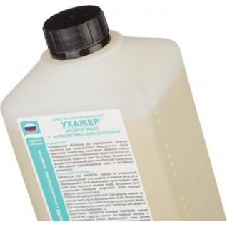 Дезинфицирующее мыло Ухажер с антисептиком 1,0 л-37867371