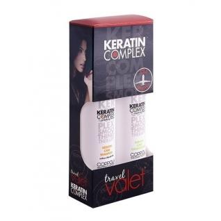 Keratin Complex Keratin Care Travel Valet - Набор дорожный для всех типов волос