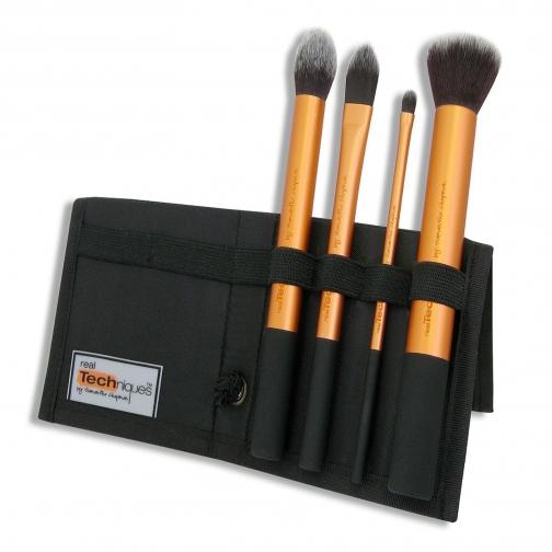 Профессиональные кисти для макияжа - Набор кистей для макияжа Real Techniques Core Collection-2147360
