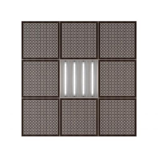 Потолочная плита Presko Верон 59.5х59.5-6768438