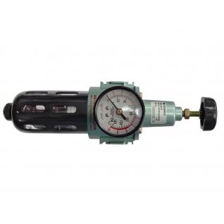 """Фильтр тонкой очистки 5Мк с регулятором и манометром для пневмосистем 1/4"""" Forsage-6006105"""