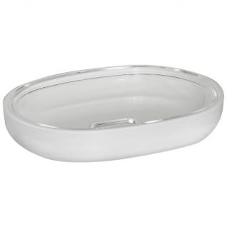 Мыльница Duschy Plastic white 309-04